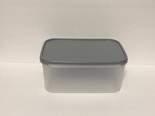 Tupperware rectangular Modular Mate #2 Sheer 18 tazas con sello ...