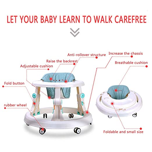 Andadores Baby Walker, con Six Wheels. Multifunción, Anti-vuelco ...