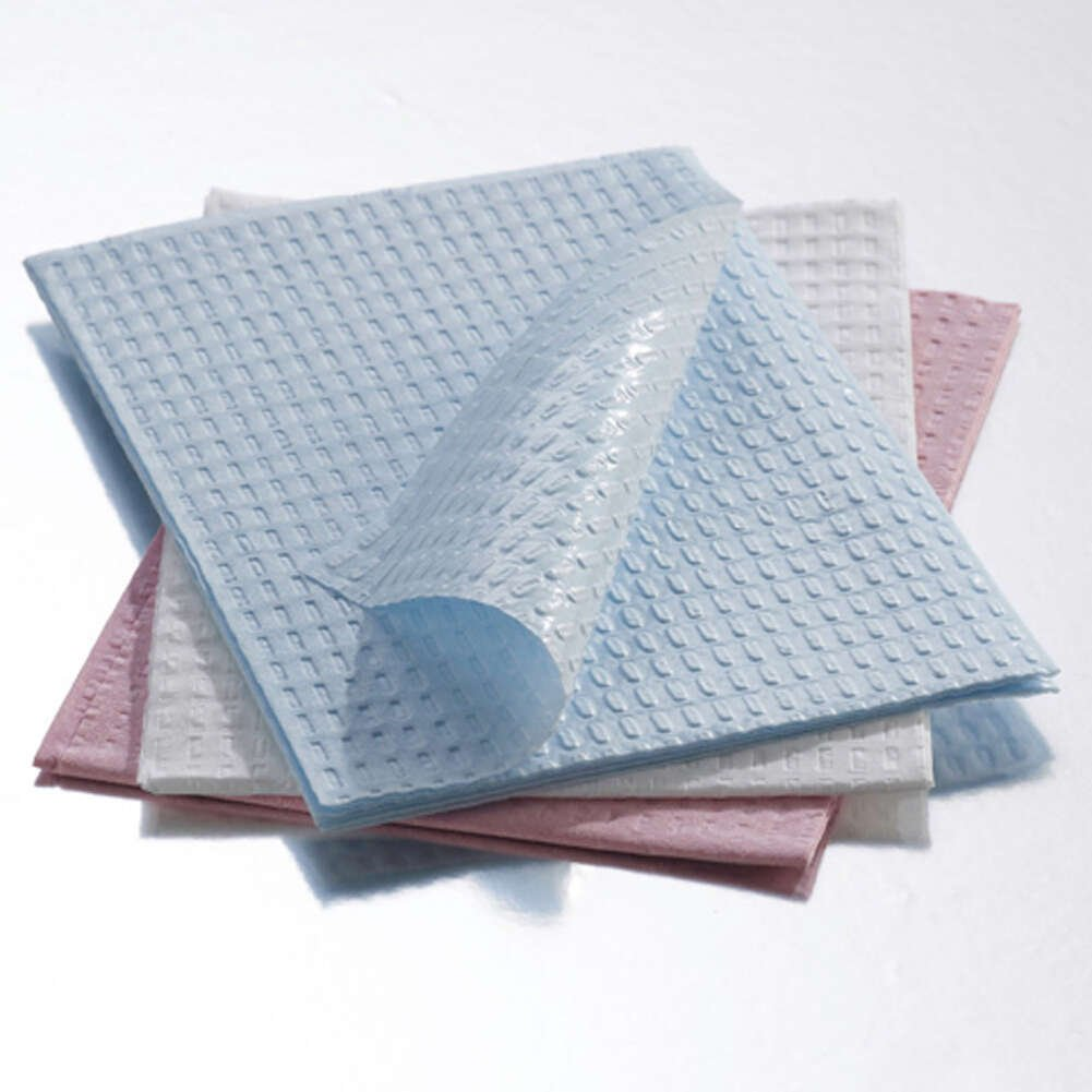 2-Ply Tissue/Poly Towel, 13.5'' Width, 18'' Length