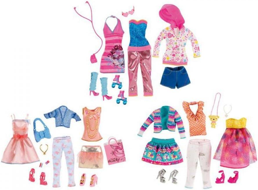 Amazon.es: Barbie Fashionistas - Ropa Establecer Artsy: Juguetes y ...
