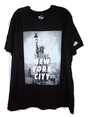 Of Nike Xxl York Nyc Statue At Mens City Amazon Size Liberty Shirt FUIpF