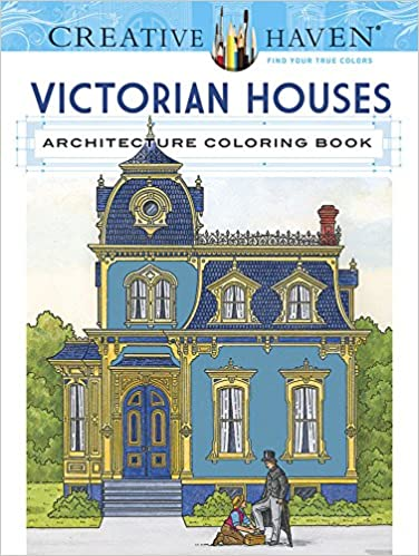 Amazon Creative Haven Victorian Houses Architecture Coloring Book Adult 0000486807940 A G Smith Books