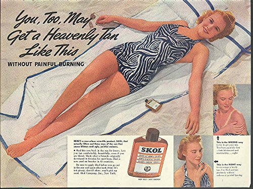 get-a-heavenly-tan-like-this-without-burning-skol-suntan-lotion-ad-1939-swimsuit
