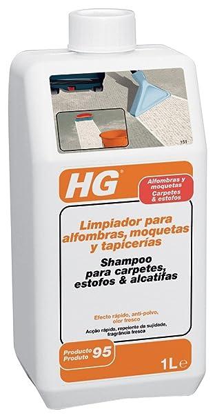 HG 151100130 - Limpiador alfombra moqueta y tapicerías (envase de 1 L)