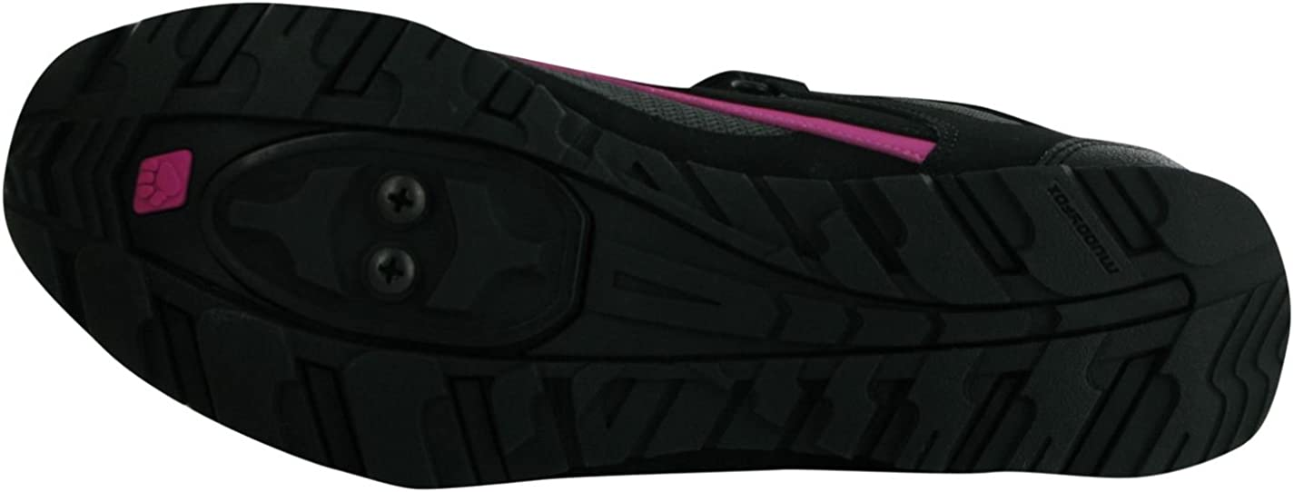 Muddyfox - Zapatillas de Ciclismo para Mujer Negro Negro/Gris/Rosa ...