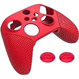 Prettyia Capa protetora de controle para controle Xbox Series S X, capa de silicone antiderrapante macia, protege contra poei