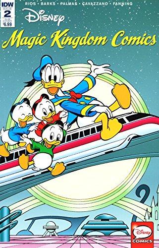 Disney Magic Kingdom Comics #2 Subscription Variant