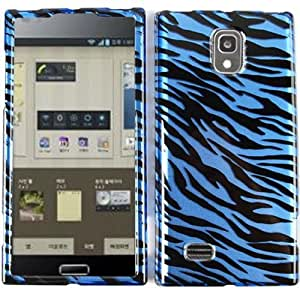 LG VS930 Spectrum 2 Blue Zebra Print Design Snap on Case by Maris's Diary