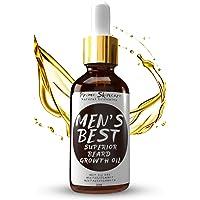 Suero Facial & Aceite para Barba 2en1 Humectante para Cara & Barba Antiedad y Antioxidante 50ML - Hidratante Antiarrugas&Estimulante del Sano Crecimiento Con Menta y Bergamota & MCT Oil de Cocos