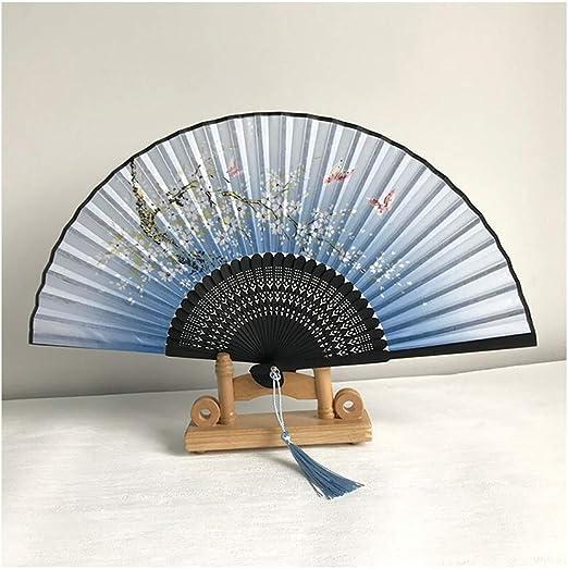 Ventilador Plegable de la Flor del Ciruelo, Mejor opción (Color ...