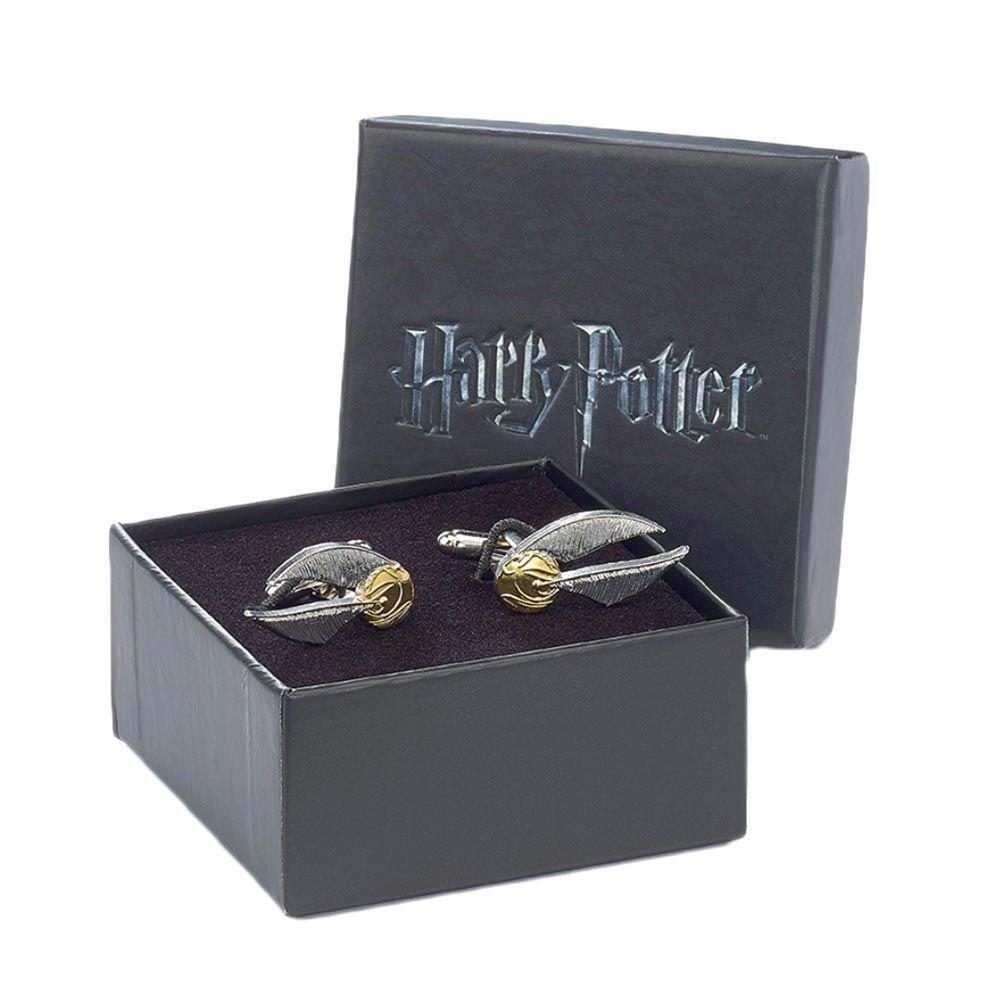 Offizielle Warner versilbert Bros Harry Potter goldener Schnatz Manschettenknöpfe 1584