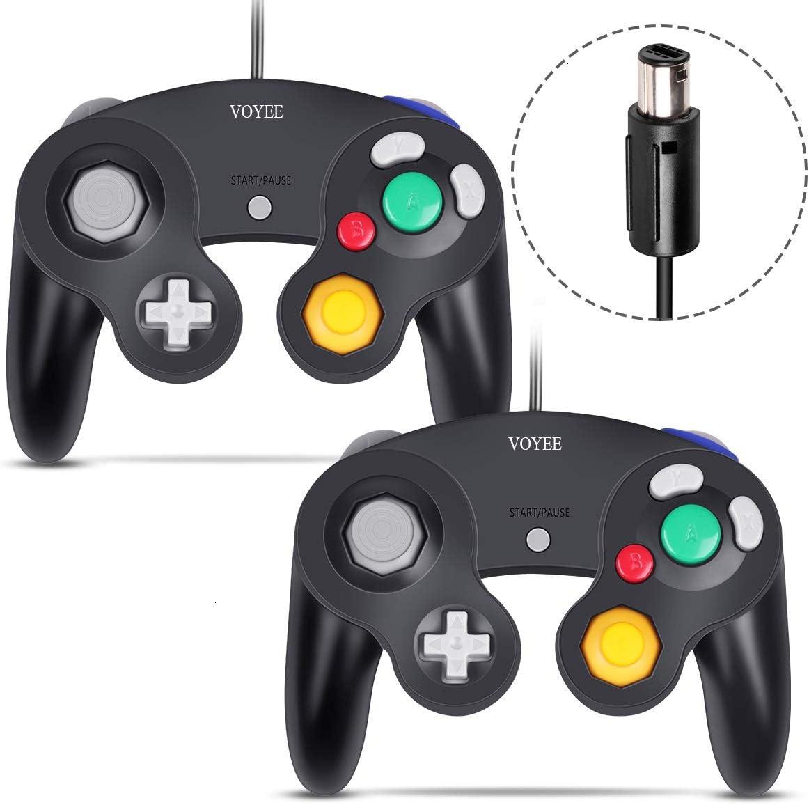 2 Controles Estilo Gamecube Para Gamecube Y Wii