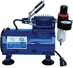 Paasche D500SR 1/5 HP Compressor with Regulator and Moisture Trap