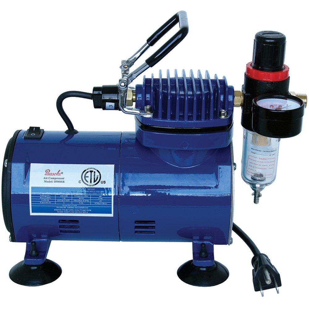 Paasche D500SR 1/5 HP Compressor with Regulator and Moisture Trap Paasche Airbrush