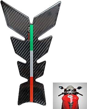 3D Sticker Pad Moto 3D Gel olio serbatoio serbatoio pad pesce Osso Protector Decal Sticker Pad Decor Black