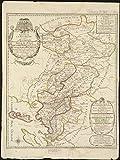 Historic Map | 1703 EvescheI? de La Rochelle | Antique Vintage Reproduction