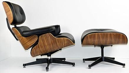 Charles Eames - Poltrona da soggiorno, in legno di noce con ...