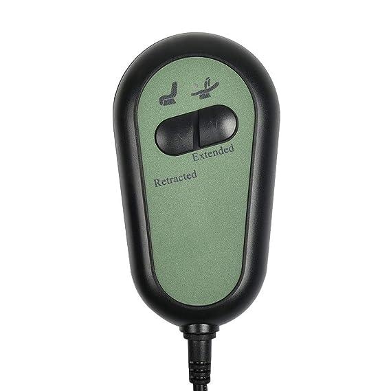 Sopito Interruptor de sillón reclinable eléctrico 2 botón regulador de la Mano 5 Botones