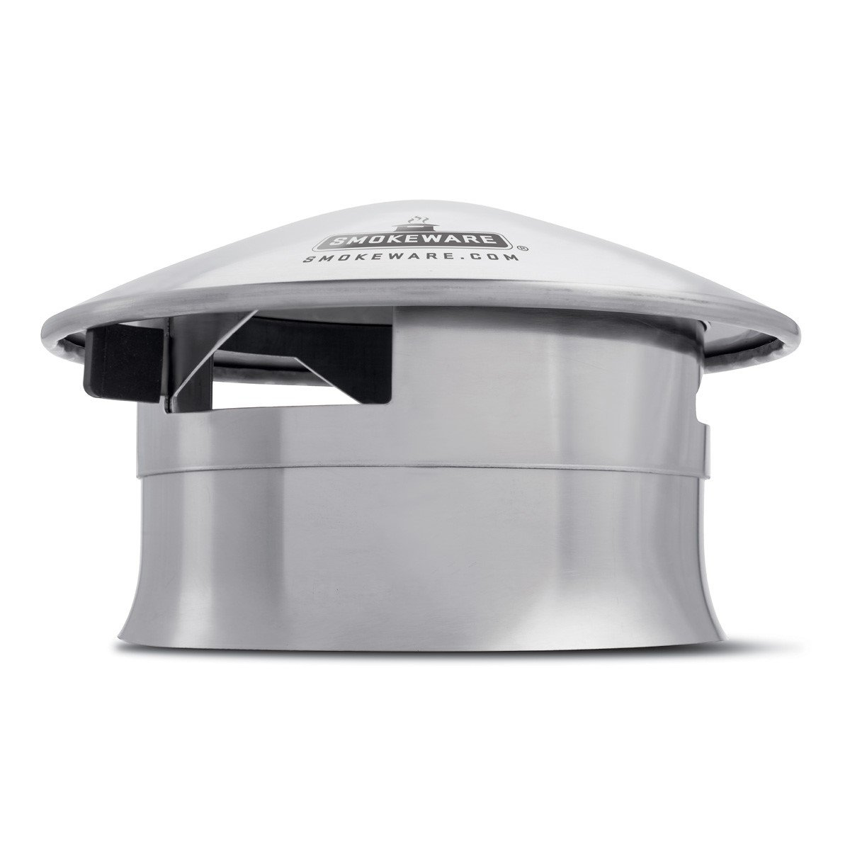 SmokeWare Vented Chimney Cap - Compatible with The Big Green Egg, Stainless Steel Replacement Accessory