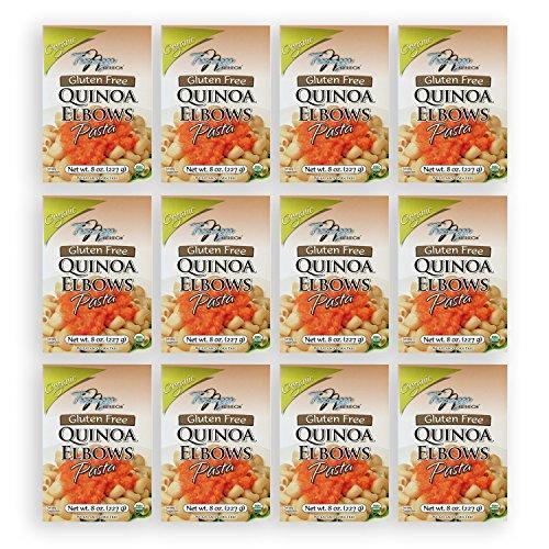 Tresomega Nutrition Organic Quinoa Pasta, Elbow, 8 Ounce (Pack of 12)