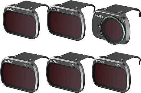 PGYTECH Mavic Mini FILTROS Pro ND8 ND16 ND32 ND64