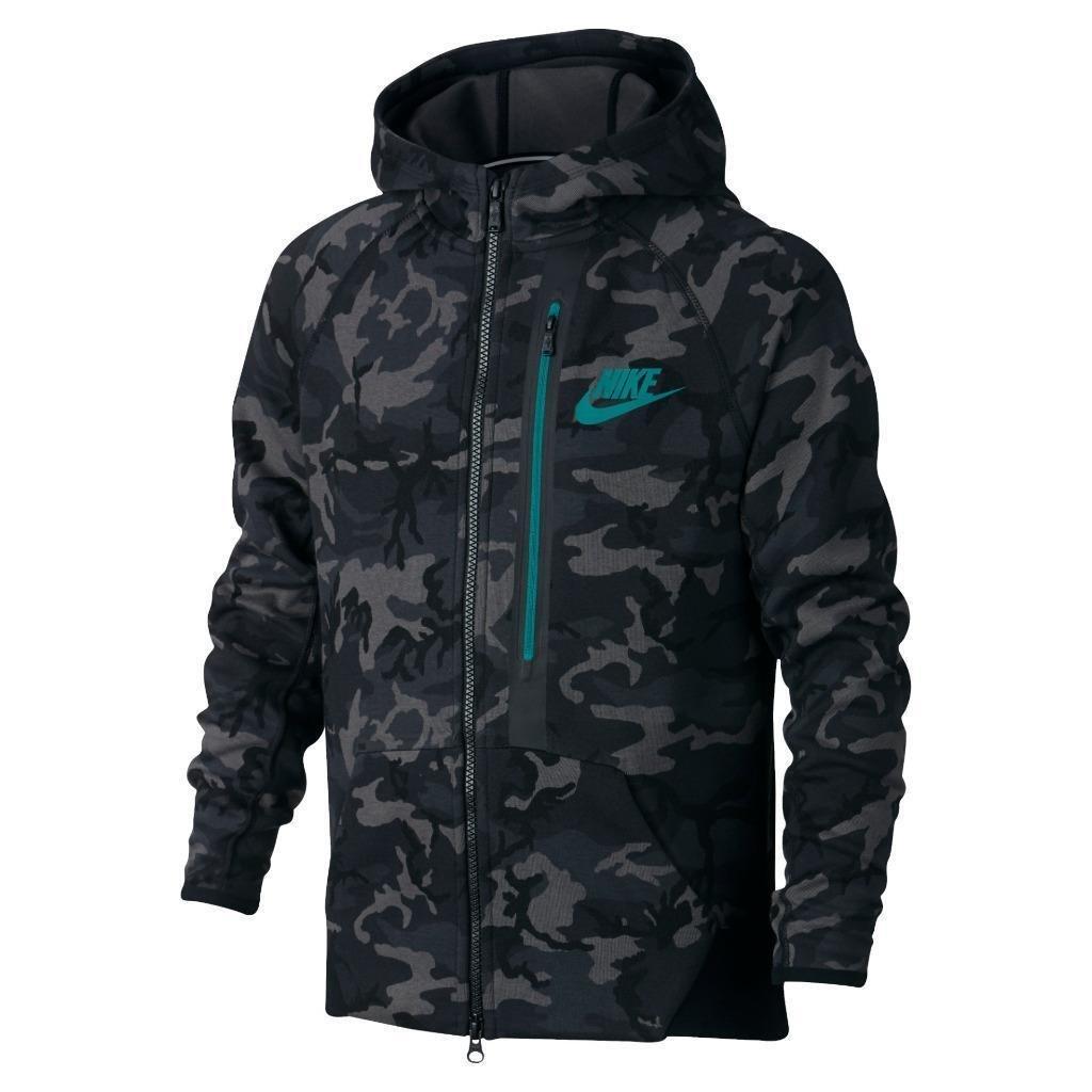 Nike Tech Fleece Full Zip Hoodie by NIKE