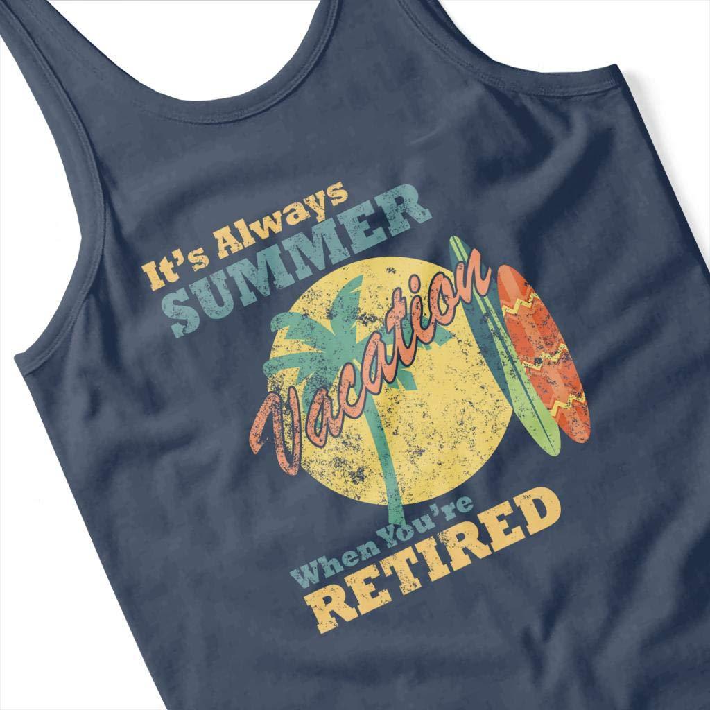 Always Summer When Youre Retired Womens Vest