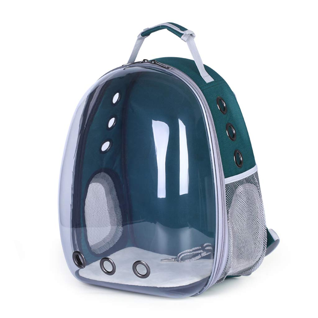 ForHe Pet Portable Carrier Space Capsule Backpack, Pet Bubble Traveler Knapsack Waterproof Lightweight for Cats Small…