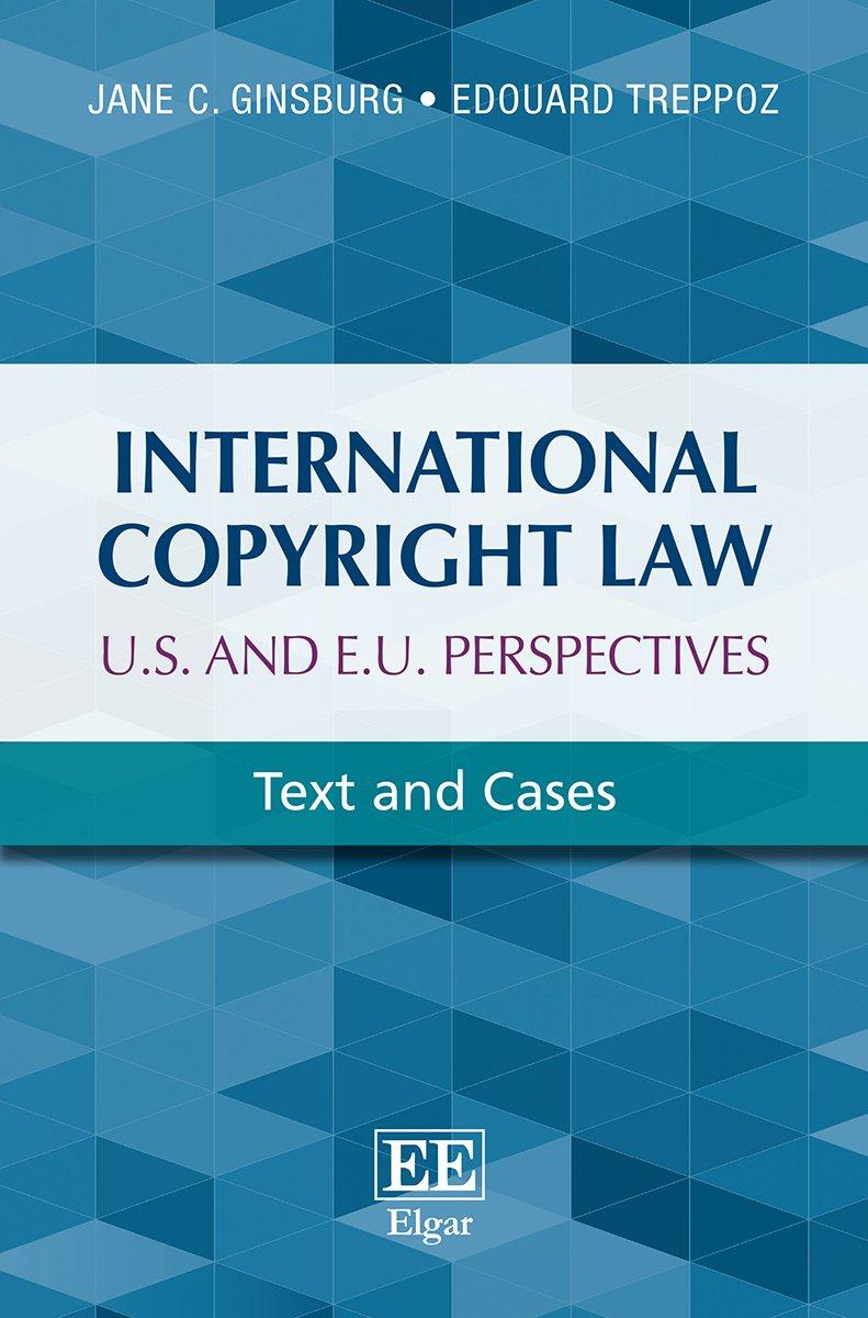 Cheapest copy of International Copyright Law U.S. and E.U ...