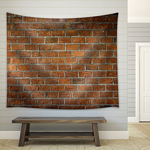 Cement and Brick Wall Texture Background Material of Industry Building Construction Fabric Wall Tapestry