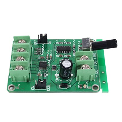 9V-12V DC Brushless Motor Driver Board Sensorless Motor
