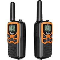 Rivins RV-7 Walkie Talkies for Kids Long Range 2 Pack 2-Way Radios Up to 5 Miles Range in Open Field 22 Channel FRS/GMRS…