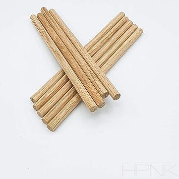 Pack of 2 Dowels-HPNK 20mm Oak Dowel 1m Length