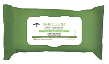 Aloetouch Personal Cleansing Wipes -Case of 576 Moisturizer-Daily Essential Jojoba/Aloe Desert Essence 4 oz Cream