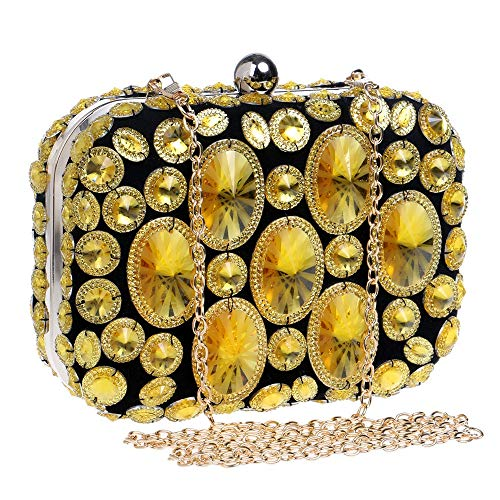 Clutch Evening Womens Shiny Dress Dinner Diamond Gold Clutch Wedding Bridal Purse Color Bag Party Handbag Ladies' Purple Bag Prom Party Bag vwdqdt