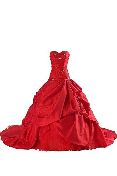 COCOMELODY - Vestido de novia - Mujer Rojo rosso 58