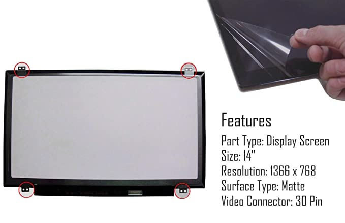 "REPLACEMENT LAPTOP 15.6/"" LCD LED Display Screen WXGA HD TP LP156WH3 S2"