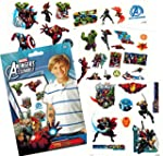 Marvel Avengers Temporary Tattoos 75 Iron Man Thor Hulk Captain America and More!