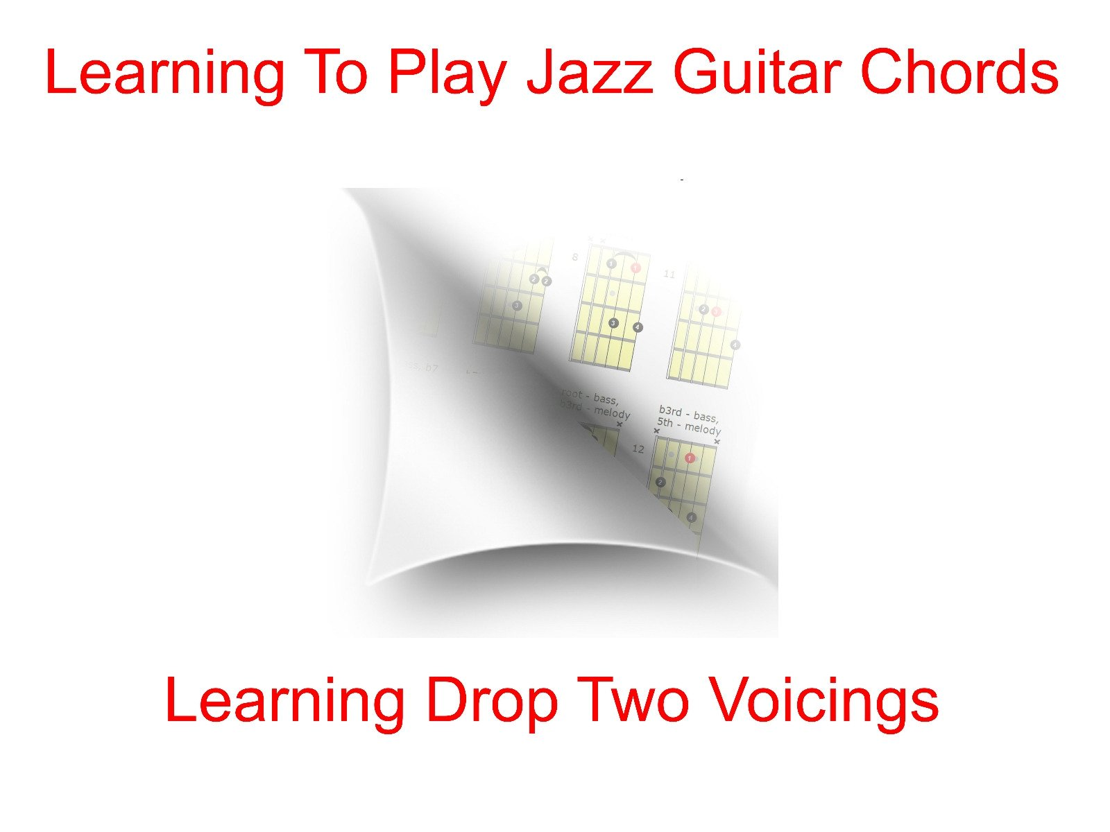 Amazon Learning To Play Jazz Guitar Chords Learning Drop Two