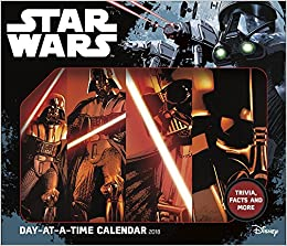 star wars saga 2018 day at a time box calendar