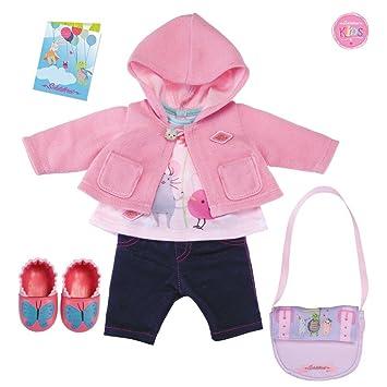 Schildkört 648401008 Puppen Kleider Set Winterzauber Kleidung & Accessoires Babypuppen & Zubehör