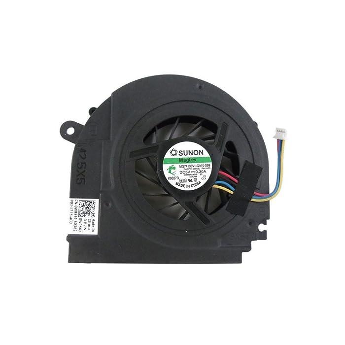 FanEngineer New CPU Cooling Fan For Dell Studio 1555 1557 1558 MCF-C30BM05 K98270 3YFM8FAWI10 0W956J W956J