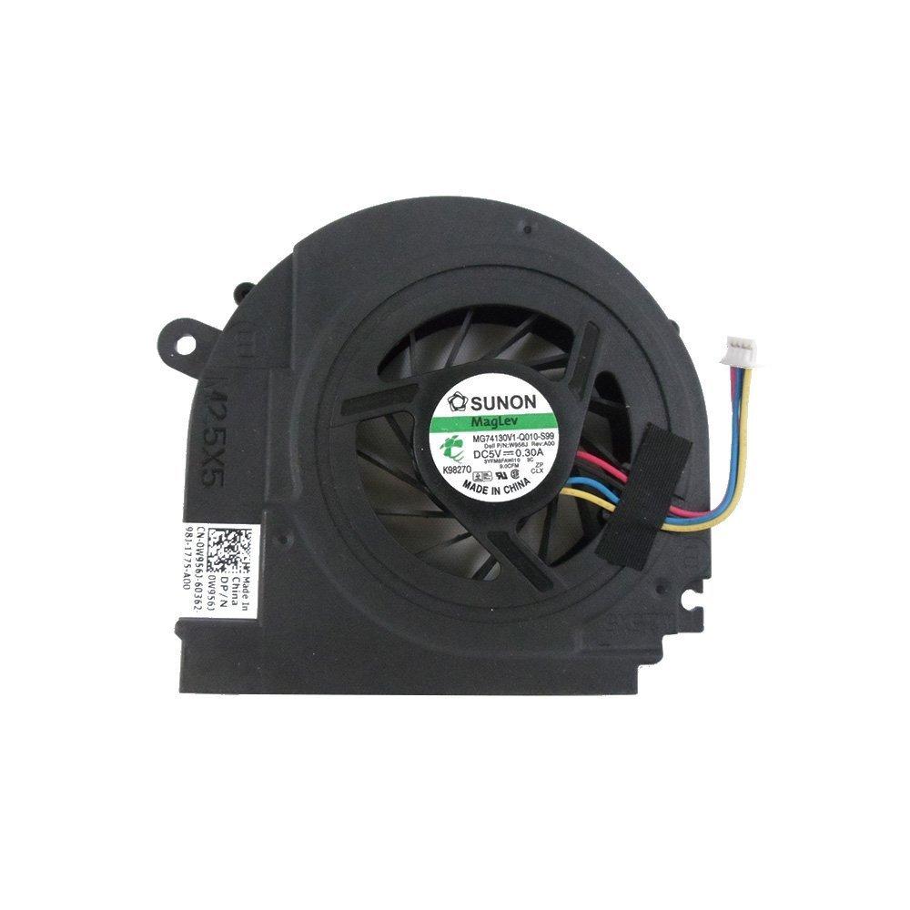 Cooler para Dell Studio 1555 1557 1558 MCF-C30BM05 K98270 3YFM8FAWI10 0W956J W956J