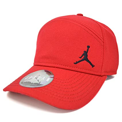 798425f63 Nike Jordan Jumpman Cap, Men's (Gym Red): Amazon.in: Sports, Fitness ...
