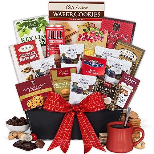 Coffee and Chocolates Gift Basket Premium
