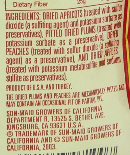 Sun Maid Mixed Fruit, 7-Ounce Pouches (Pack of 6) by Sun Maid (Image #5)