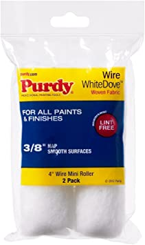 Purdy 140606042 2 Count White Dove Purdy® Mini Roller Covers
