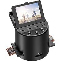 """Escáner de película Escáner de Alta resolución con 3,5"""" LCD, Convierte 35 mm/Super 8/110/ 126 película, Compatible con…"""