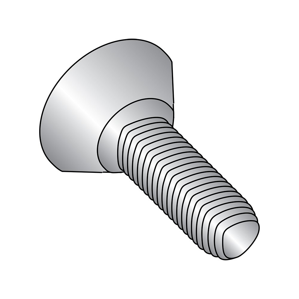 Passivated Finish Pack of 50 Pan Head #4-40 Thread Size 18-8 Stainless Steel Thread Rolling Screw for Metal 1//4 Length Phillips Drive