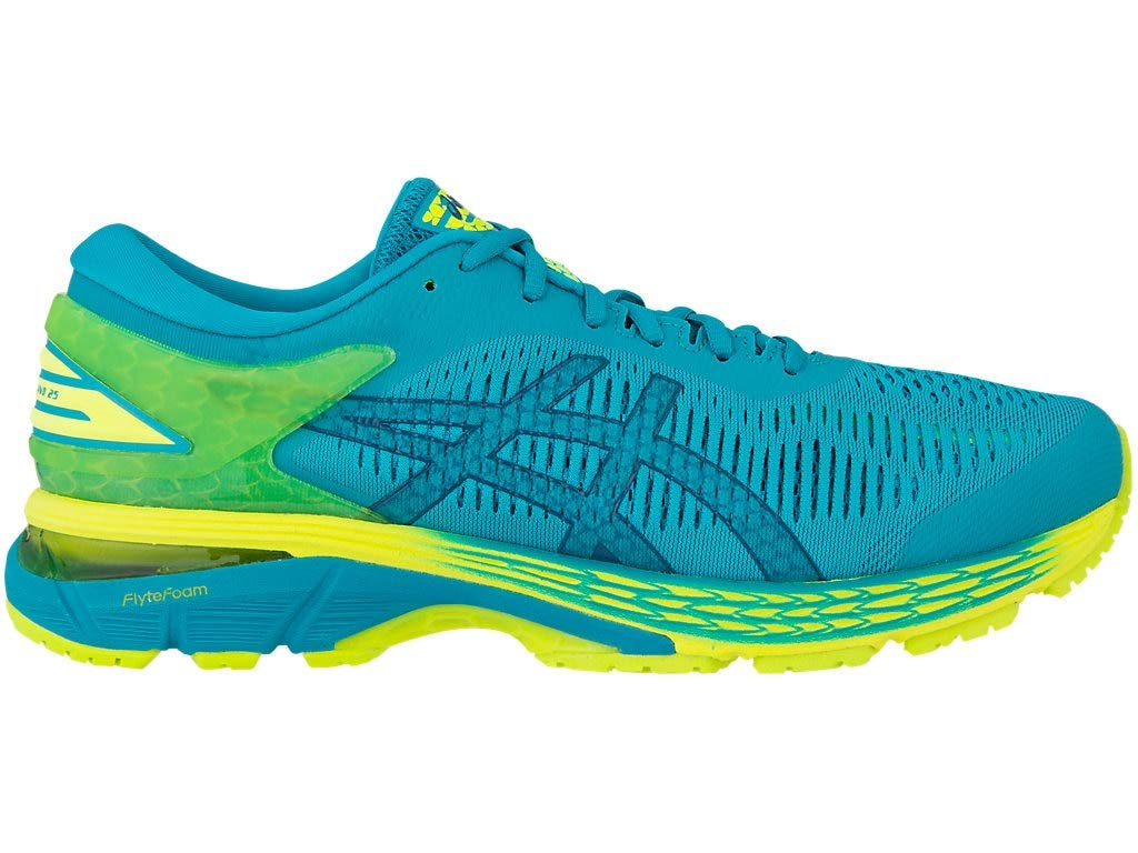 ASICS Men's Gel-Kayano 25 Running Shoes, 13M, Lagoon/DEEP Aqua